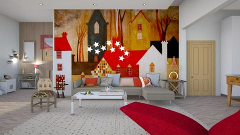 Whimsical  - Eclectic - Living room - by augustmoon