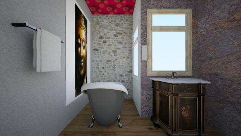 Baño de esta dos - Eclectic - Bathroom  - by ZARIGUEYA