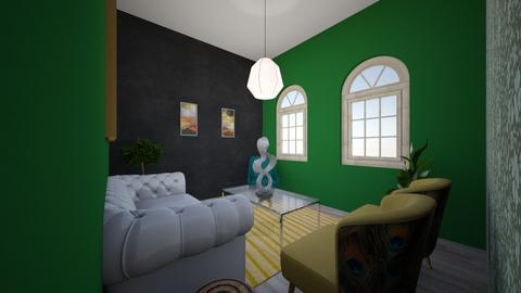 Green Academia - Living room  - by kendelmikesell
