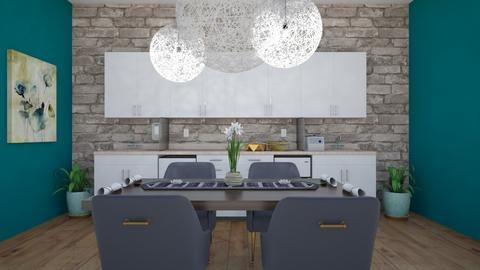 Modern kitchen diner - Modern - Dining room  - by Doraisthe_nameofmydoggo12345