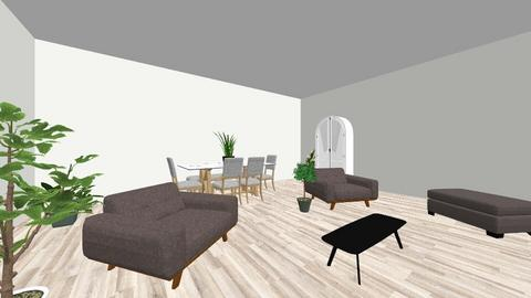 living_dining - Living room - by RebeccaM0330