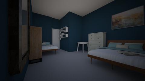 Cuarto atras - Classic - Bedroom  - by Militaaa