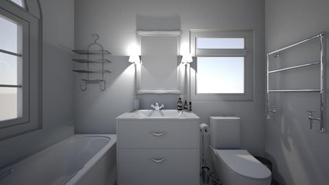 ant - Bathroom  - by milenakapral