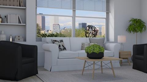 Minimalist - Living room  - by Thrud45