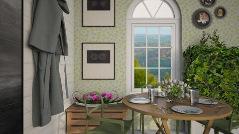 Spring Dining - Dining room - by lilyamc