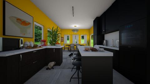 Brightside - Kitchen - by VeroDale