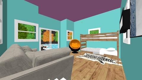 girl beach house - Bedroom  - by dunlopgirl