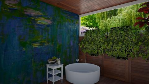 Lily Pond Bathroom - Bathroom  - by house17