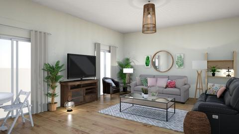 Sarah - Living room  - by euodia
