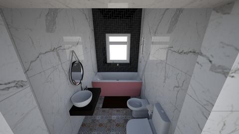 banio xd - Bathroom  - by Panzi19