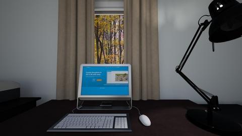 Home Office Desk - Bedroom  - by WestVirginiaRebel