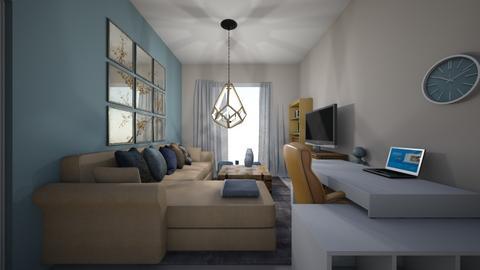 MINE - Living room  - by Vasiliki Stagkidou