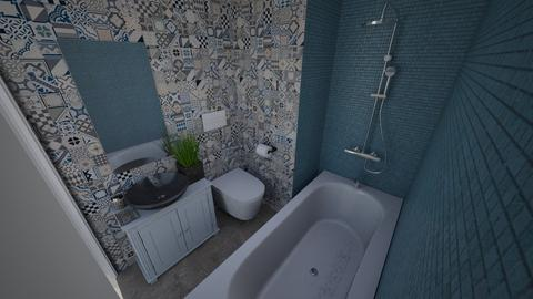 WC renovation - Bathroom - by Binh Ho