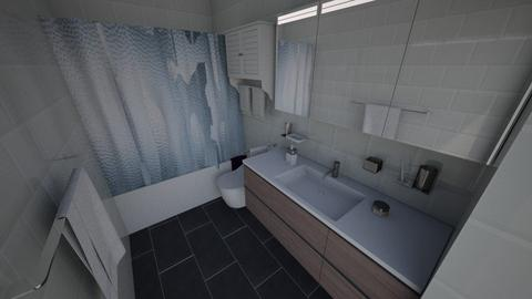 UPSTRS BTHRM Option 2 - Modern - Bathroom - by CHRSLBW