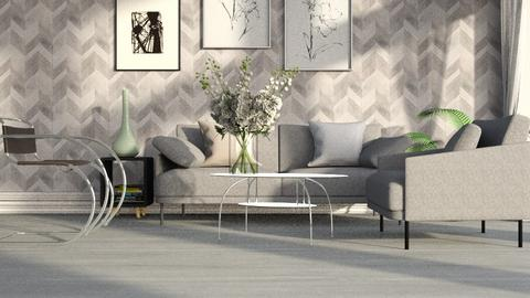 Big_Bouquet - Living room - by ZuzanaDesign
