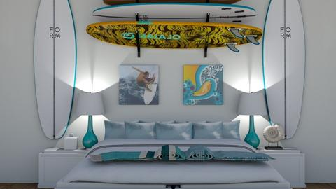 Surfer bedroom - Bedroom  - by CMax28