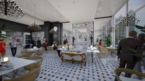 Soft Opening  - Modern - Dining room - by AlSudairy S