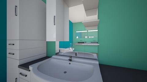 turquose batchroom - Bathroom  - by Audreys designs