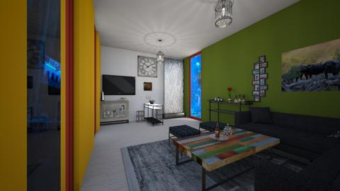 Lucky 2021 Living - Living room  - by PAPIdesigns