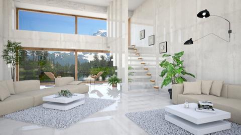Living in Luxury - Living room  - by Dr Worbiz