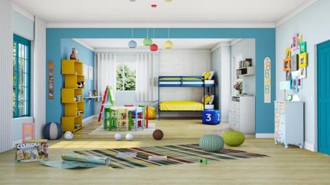 Quarto dos gemeos - Kids room  - by Alecio