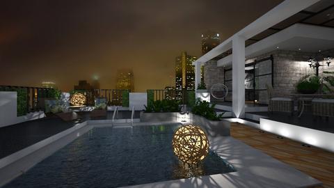 Terrace - Garden  - by rosanebpf