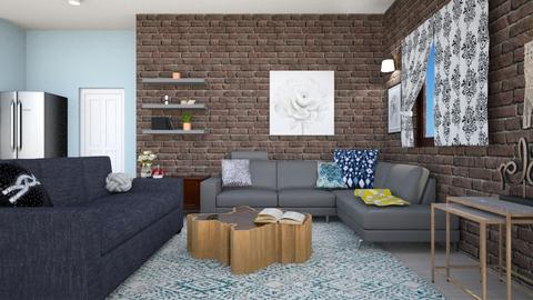 Remix 3 - Living room  - by Kirstin Reay