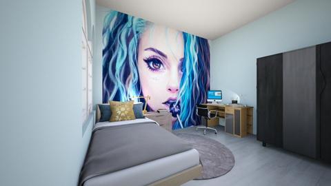 Custom room - Retro - Bedroom  - by Agamanta