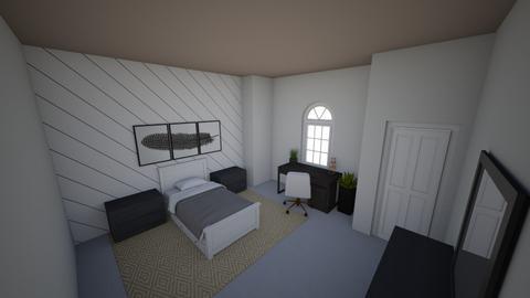 claudines bedroom - Modern - Bedroom  - by UNO678