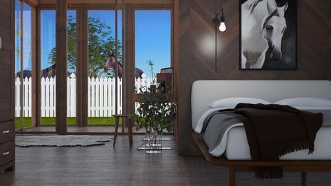 wooden horse - Bedroom  - by RaeCam