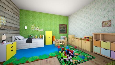 Kidsroom1 - Kids room - by Emma_04