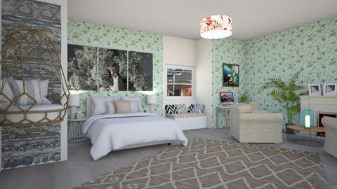 Elegant Guest Bedroom - Modern - Bedroom  - by Pheebs09