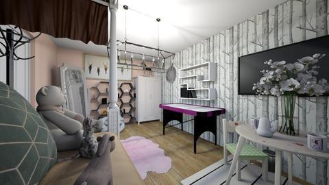 pokoj - Kids room  - by SandraPrusinska1234