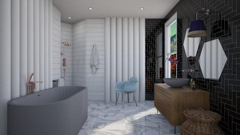 Pillar Bath - Modern - Bathroom  - by 3rdfloor