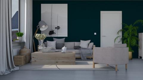 Modern Pebble - Modern - Living room  - by HenkRetro1960