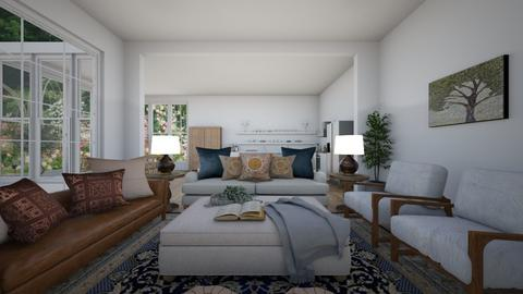 Open plan living room - Living room - by niasinterioralchemy