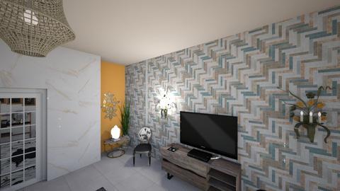 3st design - Living room  - by RimxX0