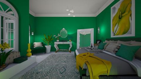 O Keeffe Bedroom - by Themis Aline Calcavecchia