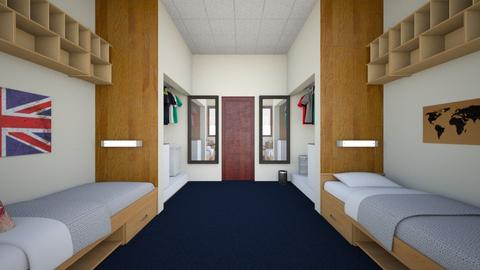 Waldock Hall 2 - Bedroom  - by SammyJPili