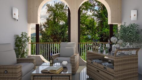 balcony - by ilcsi1860