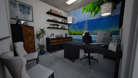 Backyard Office 2 - Office  - by SherryDW