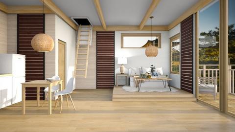 Japandi Tiny House - by Feeny