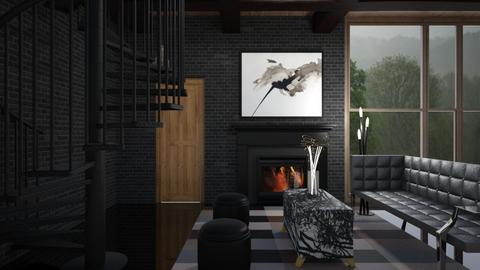 Deep Thinker - Masculine - Living room  - by timeandplace