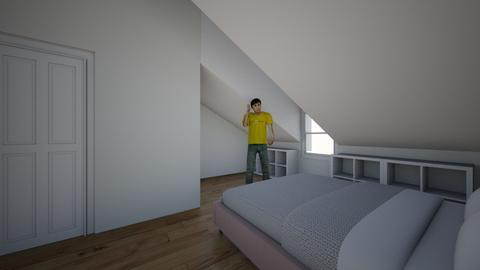 Pote BenoudV3 - Bedroom  - by Alexandre Mercier