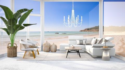 Luxury Sun Room - Living room  - by millerfam