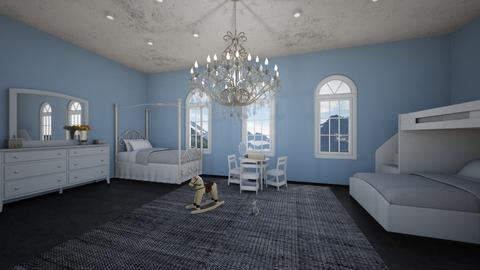 Ravenclaw Bedroom  - Kids room  - by cbaker16