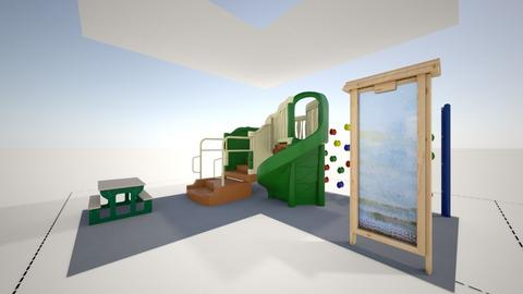 Preschool - Garden - by gwenfinn