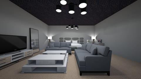 Grey - Modern - Bedroom  - by Ahmedb