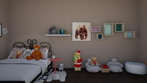 Bears Fan - Bedroom  - by RoseGrangerWeasly