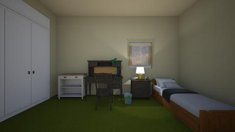 Junior Green - Kids room  - by mspence03